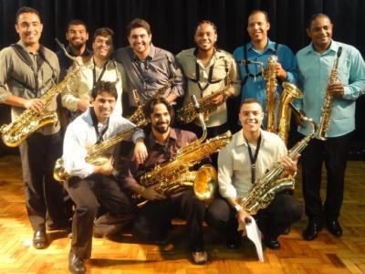 Conjunto de saxofones da UFRJ